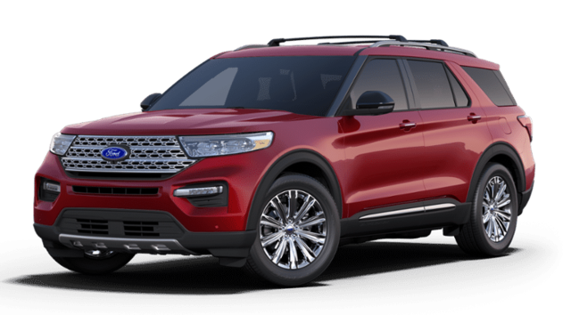 New 2020 Ford Explorer Limited SUV 1FMSK8FH6LGA70446 for sale near Rock Springs, WY